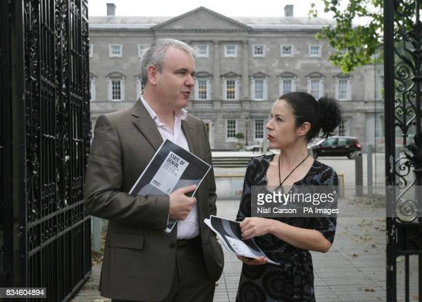 Amnesty International's Irish Director Colm O'Gorman and Legal Affairs Manager Fiona Crowly launch the group's latest report State of Denial Europe's...