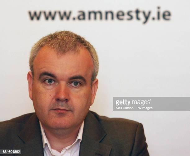 Amnesty International's Irish Director Colm O'Gorman launches the group's latest report State of Denial Europe's role in rendition and secret...
