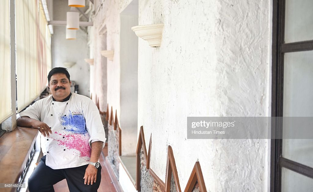 Amol Patil, executive head chef, 145 Kala Ghoda Restaurant, during an exclusive interview with ht48hours-Hindustan Times, at the Khyber, Fort, Matunga, on June 15, 2016 in Mumbai, India.