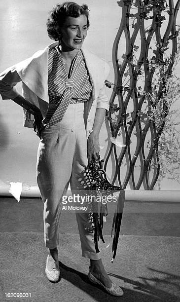 JAN 6 1955 JAN 9 1955 Among the resort clothes to be modeled at the May Com¡pany's Home and Ranch show Jan 19 for the visiting stock¡men's wives is...