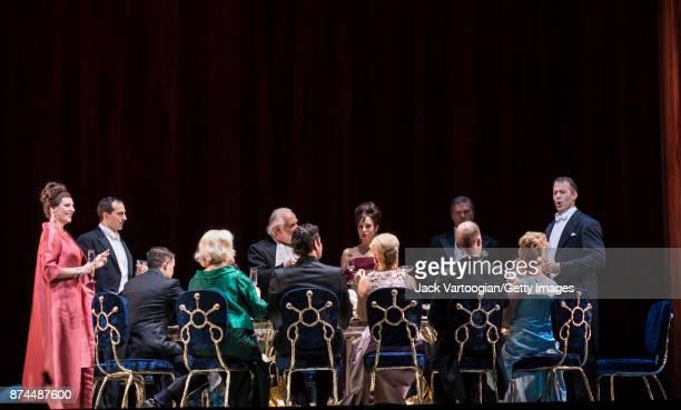Among those pictured South African soprano Amanda Echalaz American baritone David Adam Moore British mezzosopranos Alice Coote British bass Sir John...