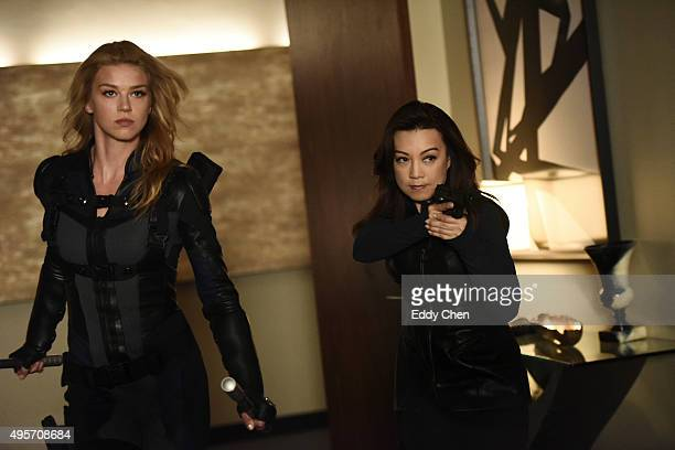 S AGENTS OF SHIELD 'Among Us Hide' The stakes get even higher as Hunter and May continue to go after Ward and Hydra and Daisy and Coulson begin to...