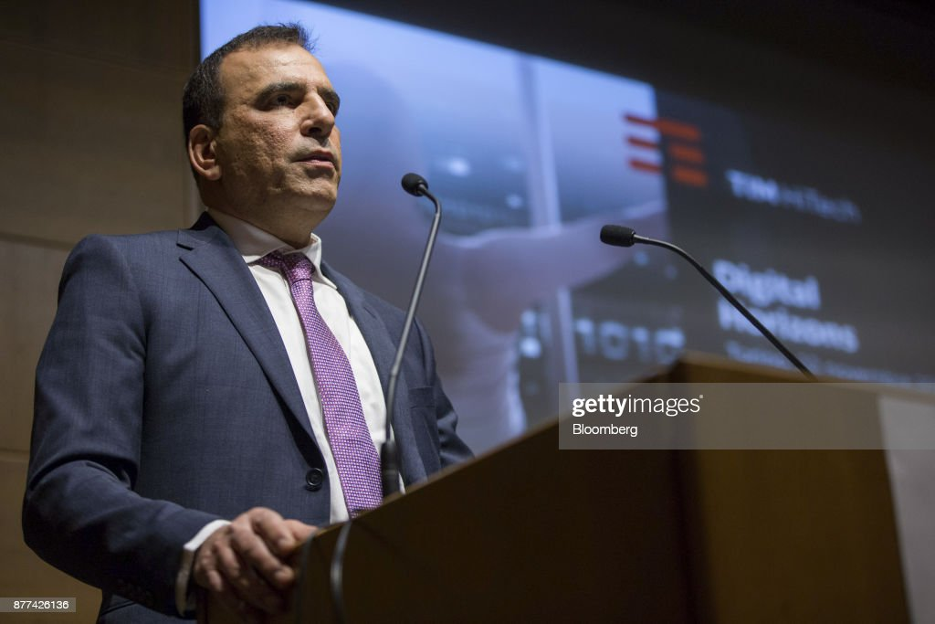 Telecom Italia SpA Chief Executive Officer Amos Genish Speaks At Company Event