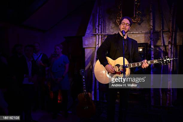 Amos Lee performs as GREY GOOSE Vodka hosts exclusive speakeasy with special performance by Amos Lee at the Boulangerie Picardie on October 17 2013...