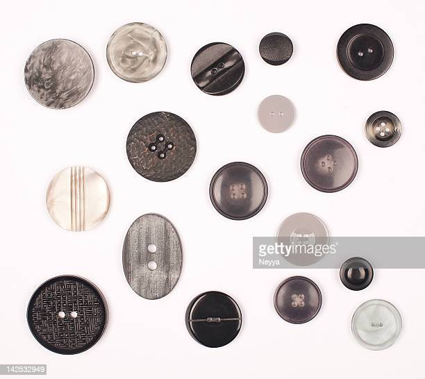 B & W Vintage Buttons