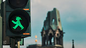 Ampelmann traffic lights of Berlin