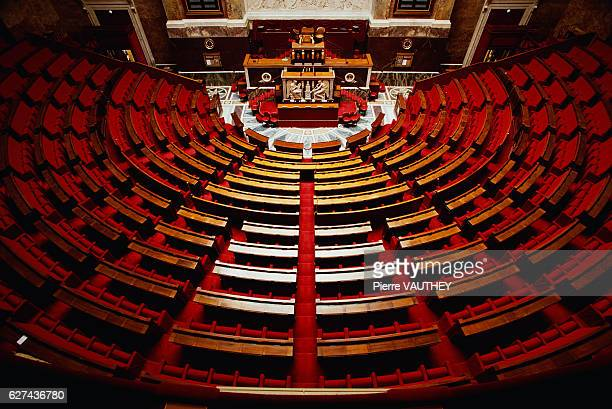 Amphitheater in the French National Assembly