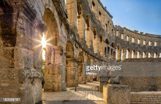 Amphitheater Pula, Croatia
