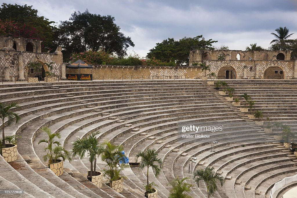 Amphitheater where the inaugural concert was performed by Frank Sinatra, Altos de Chavon, La Romana, Dominican Republic