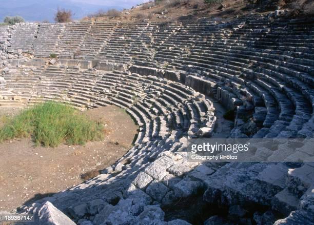 Amphitheatre at Lycian city of Letoon Turkey