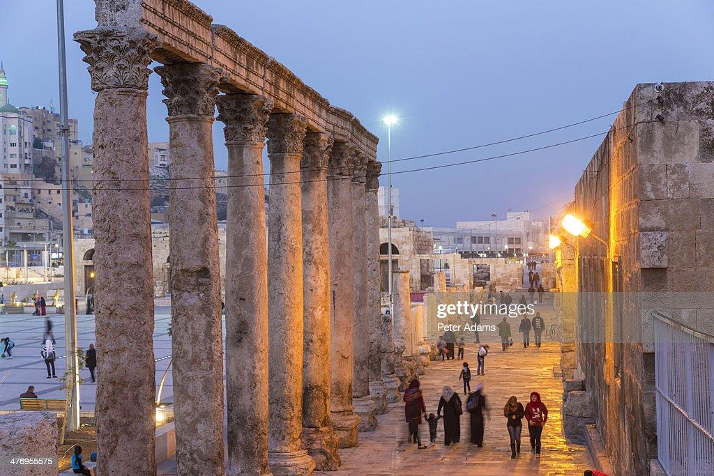 Amphitheatre, downtown, Amman, Jordan
