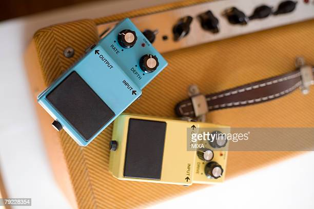 Amplifier and guitar effects pedals