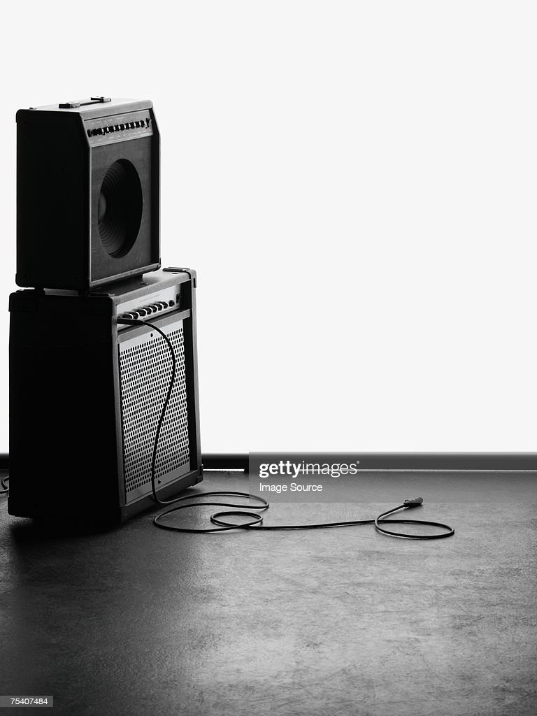 Amplifiers : Stock Photo
