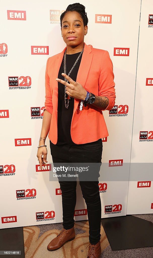 Amplify Dot attends the EMI & War Child Brits Aftershow Party at 02 Arena on February 20, 2013 in London, England.