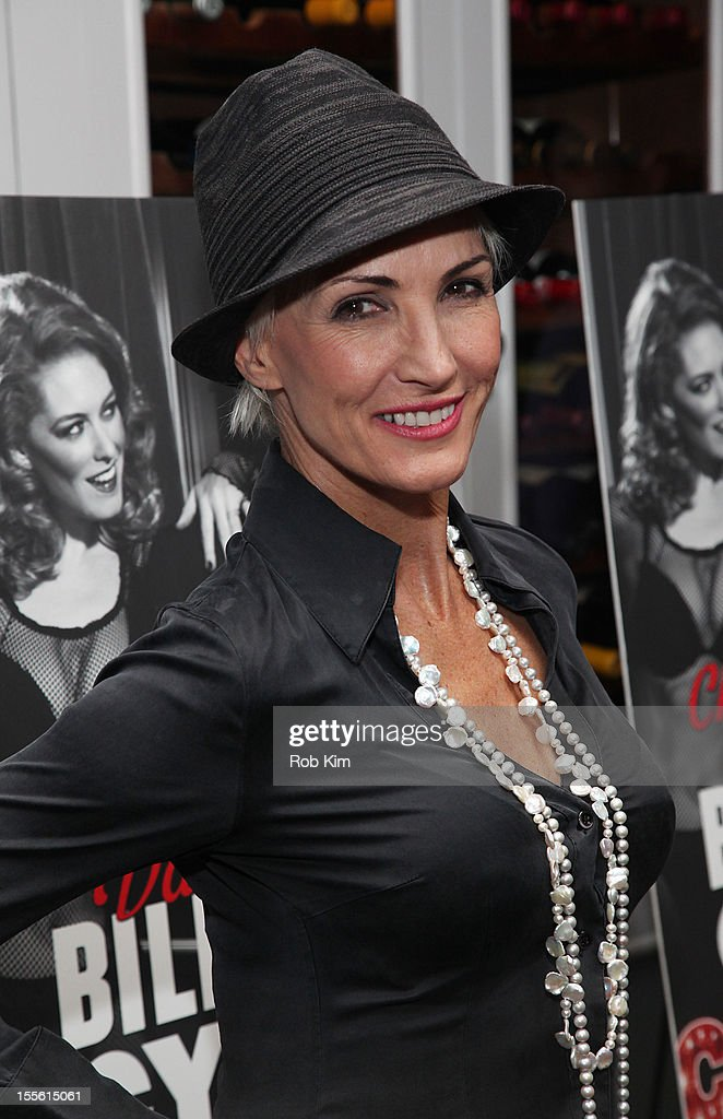 Amra-Faye Wright attends opening night post-show celebration for Billy Ray Cyrus' Broadway stage debut as Billy Flynn in 'Chicago' at Victor's Cafe on November 5, 2012 in New York City.