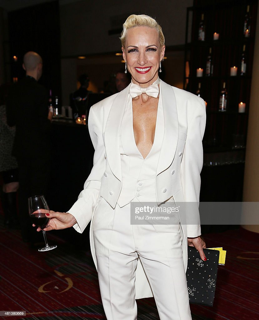 Amra-Faye Wright attends the 28th annual Night of a Thousand Gowns at the Marriott Marquis Times Square on March 29, 2014 in New York City.