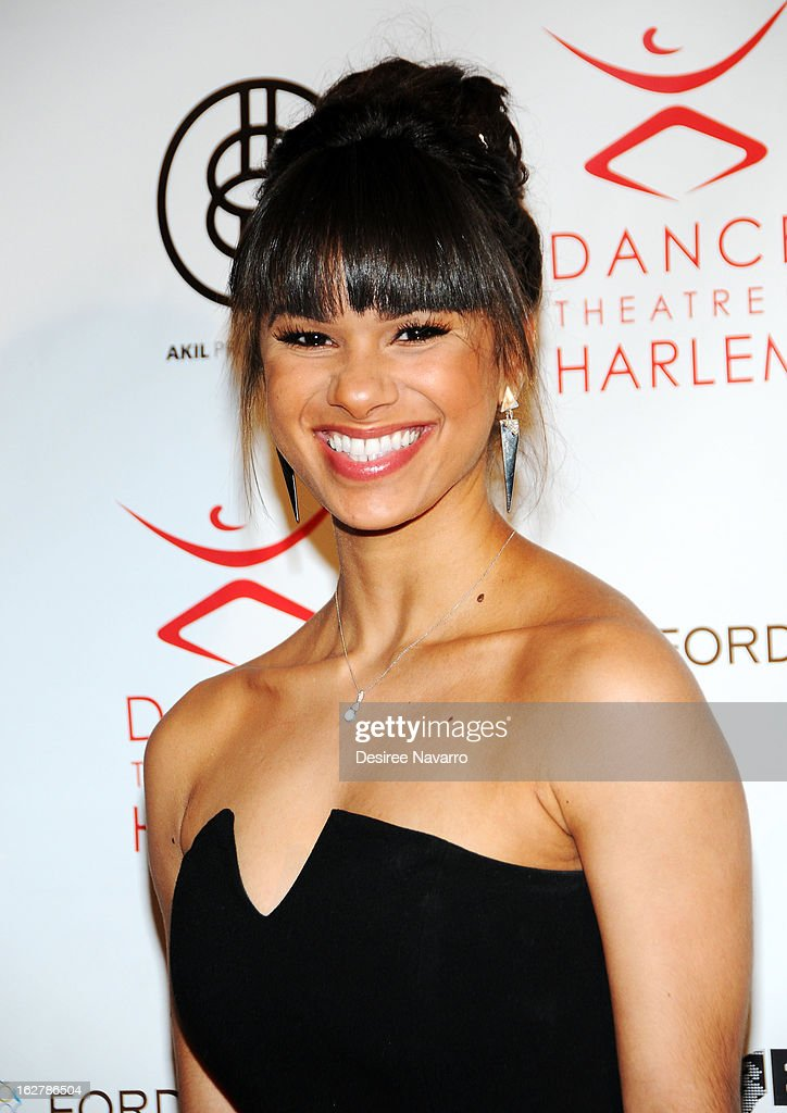 Amreican Ballet Theatre Soloist Misty Copeland attends the Dance Theatre Of Harlem 44th Anniversary Celebration at Mandarin Oriental Hotel on February 26, 2013 in New York City.