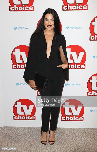 Amrit Maghera arrives for the TV Choice Awards at The Dorchester on September 5 2016 in London England