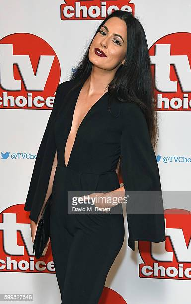 Amrit Maghera arrives for the TVChoice Awards at The Dorchester on September 5 2016 in London England