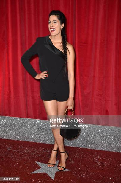 Amrit Maghera attending the British Soap Awards 2017 at The Lowry Salford Manchester PRESS ASSOCIATION Photo Picture date Saturday 3 June 2017 See PA...