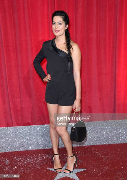 Amrit Maghera attends the British Soap Awards at The Lowry Theatre on June 3 2017 in Manchester England