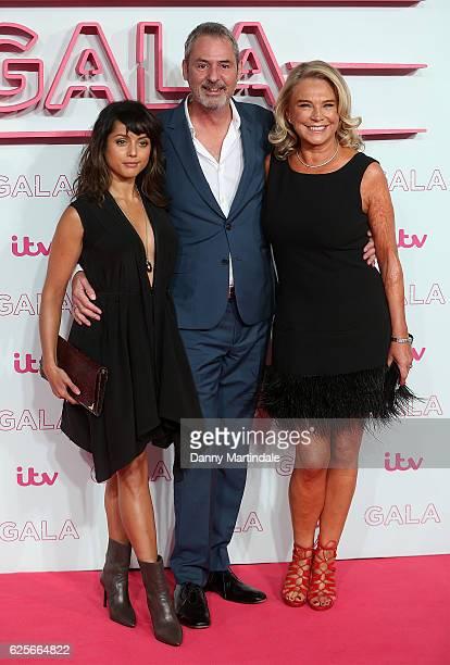 Amrita Acharia Neil Morrissey and Amanda Redman attends the ITV Gala at London Palladium on November 24 2016 in London England
