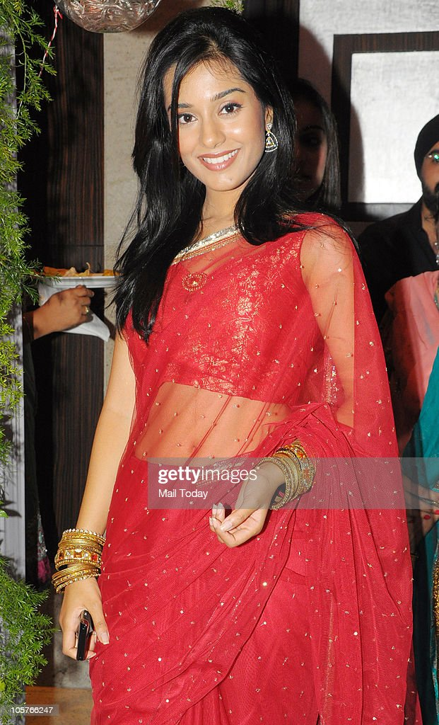 <a gi-track='captionPersonalityLinkClicked' href=/galleries/search?phrase=Amrita+Rao&family=editorial&specificpeople=3080005 ng-click='$event.stopPropagation()'>Amrita Rao</a> at designer AD Singh's sangeet ceremony in Mumbai on October 18, 2010.