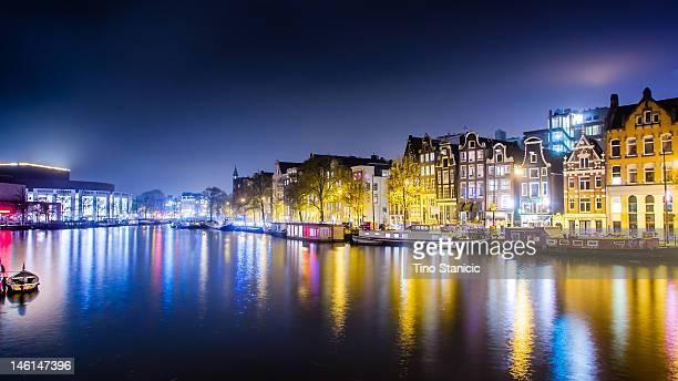 Amstel by night