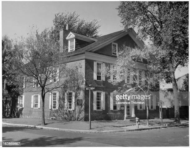 Amstel House in New Castle Delaware 1955