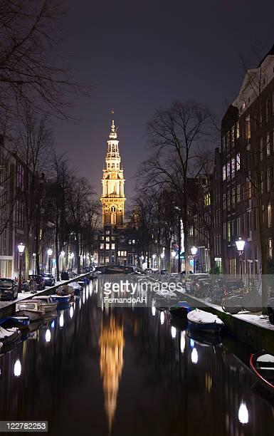 Amsterdam à la nuit