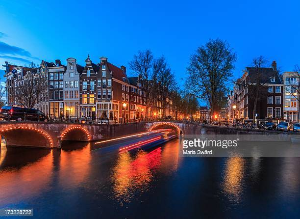 Amsterdam blue hour