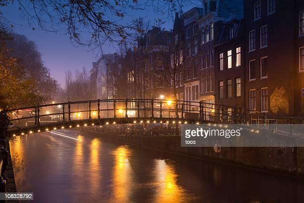Amsterdam par nuit