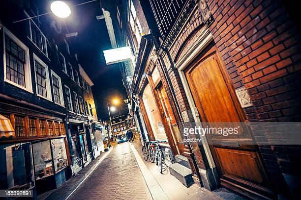 Amsterdam par nuit.