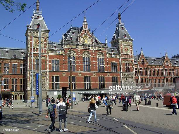 CONTENT] Amsterdam Centraal Station was built between 1881 and 1889 on an artificial island in the river IJ after a design by the architect PJH...