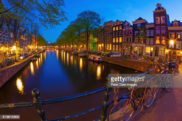 Amsterdam in the night
