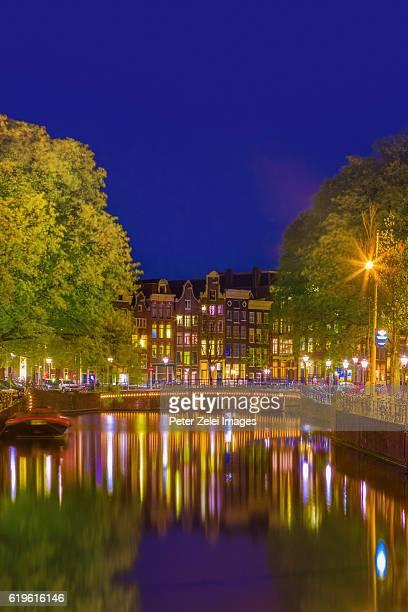 Amsterdam in the night