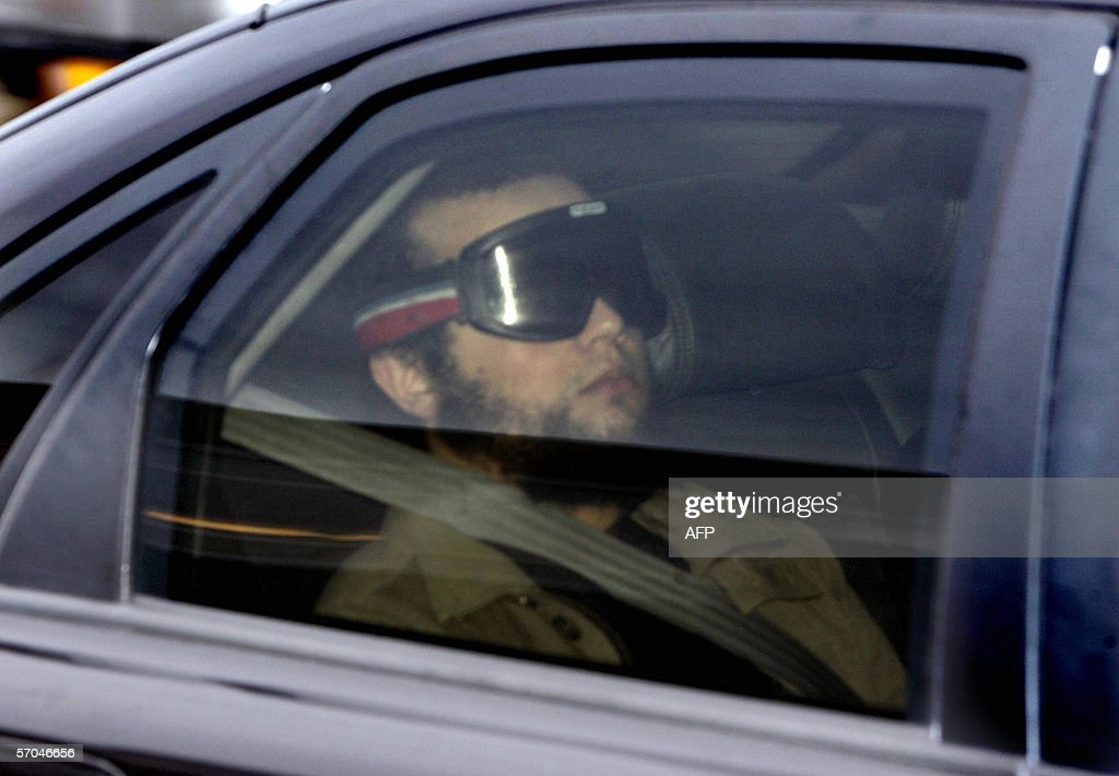 Mohammed Bouyeri, already convicted of murdering filmmaker Theo van Gogh, arrives at Amsterdam court for the trial of the so-called Hofstad group 10 March 2006. A Dutch court on Friday convicted nine members of the Hofstad group of membership of a terrorist organisation and sentenced them to up to 15 years in prison. Bouyeri, was found guilty of leading the organisation but not given an additional sentence because he is already serving the maximum of life without parole.