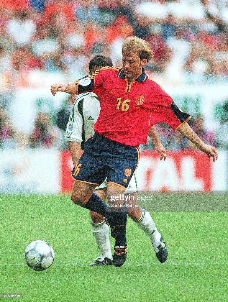 EM EURO 2000 Amsterdam SLOWENIEN SPANIEN SVN ESP 1 2