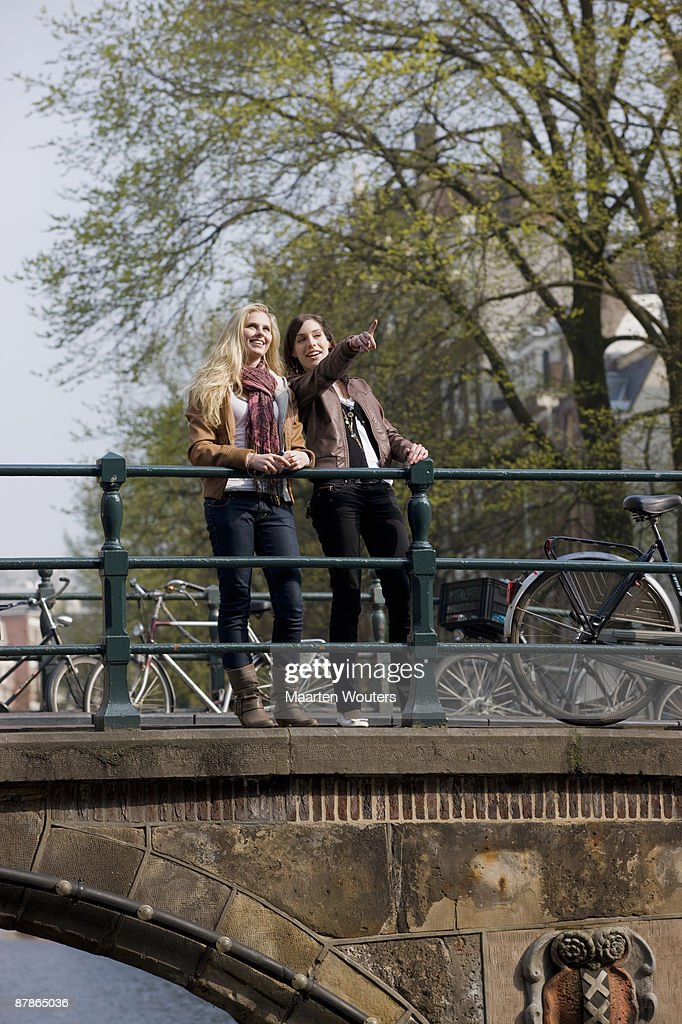 amsterdam tourism : Stock Photo