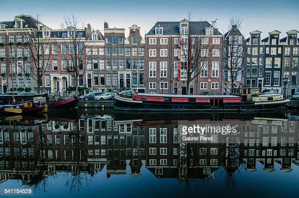 Amsterdam's Prinsengracht Canal
