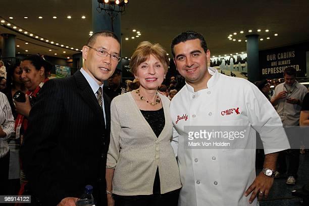 Amtrak David Lim Amtrak Board Executive Nancy Naples and Pastry Chef/ TV personality Buddy Valastro helps kicksoff National Train Day festivities at...