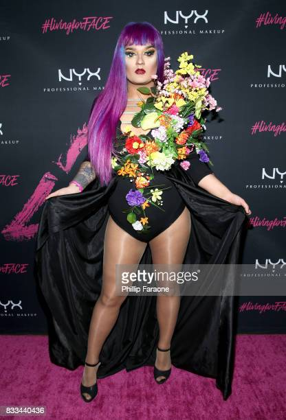 Amuna Davis at the FACE Awards International Welcome Party at Andaz Hotel on August 16 2017 in Los Angeles California