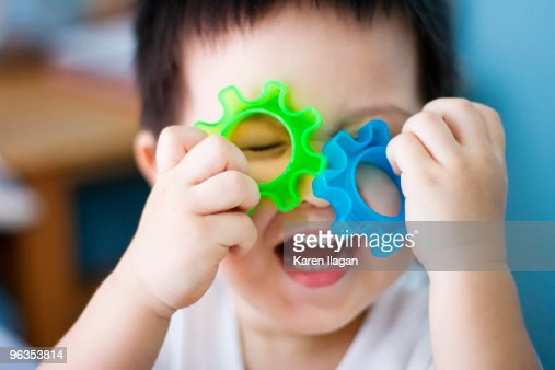 Amused little boy : Stock Photo