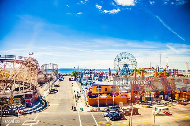 Coney island stock photos and pictures getty images for Attractions in nyc for couples