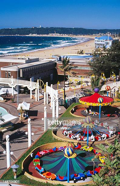 Amusement park on Promenade.