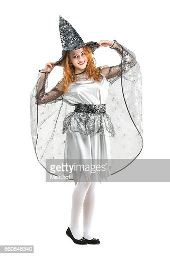 Amusement Playing Halloween Concept On White Background Isolated