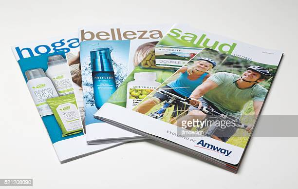 Amway constitue le marché hispanique publications promotionnel