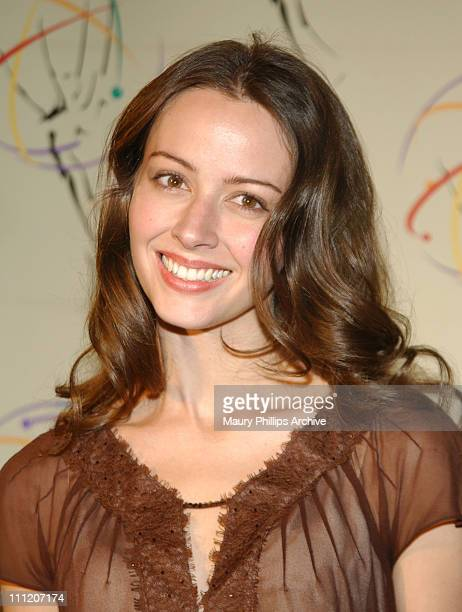 Amy Acker during 24th Annual College Television Awards Ceremony at St Regis Hotel in Century City California United States