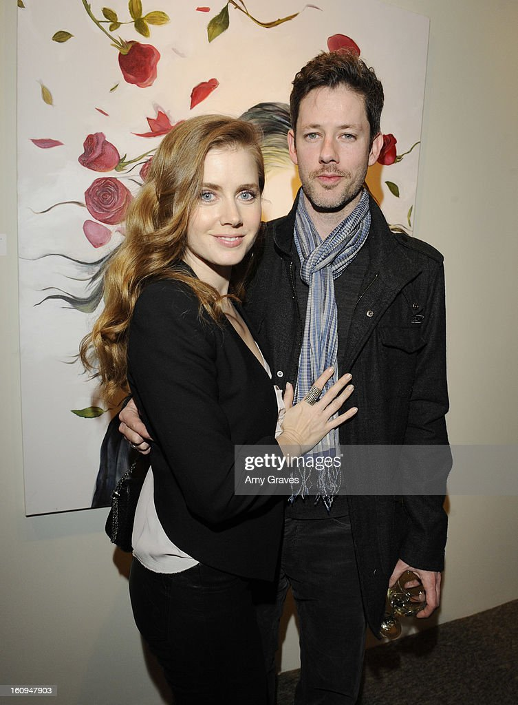 <a gi-track='captionPersonalityLinkClicked' href=/galleries/search?phrase=Amy+Adams&family=editorial&specificpeople=213938 ng-click='$event.stopPropagation()'>Amy Adams</a> and husband Darren Le Gallo attend Darren Le Gallo's 'Nothing You Don't Know' Exhibition hosted by Trigg Ison Fine Art, <a gi-track='captionPersonalityLinkClicked' href=/galleries/search?phrase=Amy+Adams&family=editorial&specificpeople=213938 ng-click='$event.stopPropagation()'>Amy Adams</a> and Justin Timberlake at Trigg Ison Fine Arts Gallery on February 7, 2013 in West Hollywood, California.