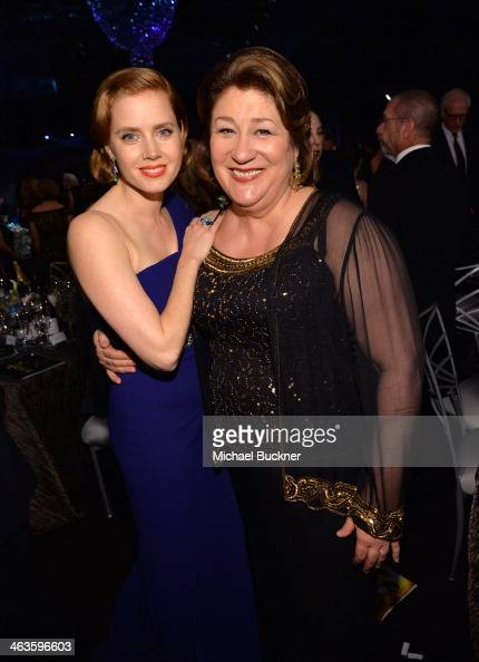 Amy Adams and Margo Martindale attend the 20th Annual Screen Actors Guild Awards at The Shrine Auditorium on January 18 2014 in Los Angeles California